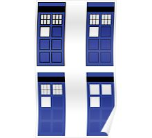 Police box geometry Poster