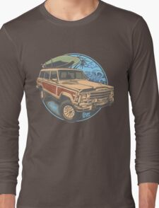 Surf Jeep Long Sleeve T-Shirt