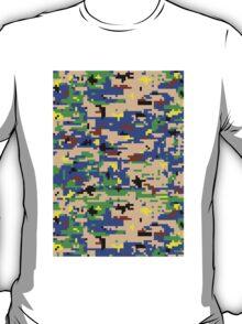8-bit Digital Camo (Luigi) T-Shirt
