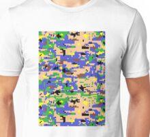 8-bit Digital Camo (Luigi) Unisex T-Shirt