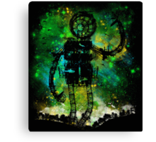 mad robot Canvas Print