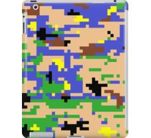 8-bit Digital Camo (Luigi) iPad Case/Skin