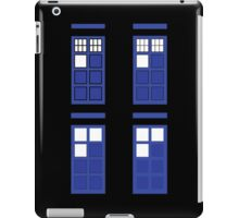 Police box geometry iPad Case/Skin