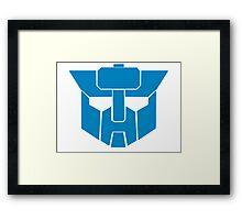 Transformers - Wreckers Logo Framed Print