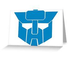 Transformers - Wreckers Logo Greeting Card