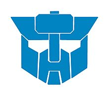 Transformers - Wreckers Logo Photographic Print