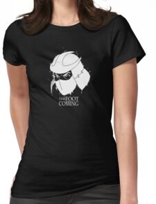 The Foot is Coming Womens Fitted T-Shirt