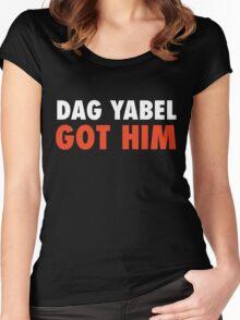 Dag Yabel Got Him Women's Fitted Scoop T-Shirt