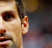 Novak Djokovic Sticker