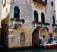 Visiting via Motorboat, Venice by ChaosGate