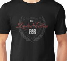 1998 Birthday Limited Edition Unisex T-Shirt