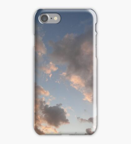 The Cloudy Sunset II iPhone Case/Skin
