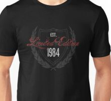 1984 Birthday Limited Edition Unisex T-Shirt
