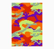 8-bit Woodland Camo (Samus) Unisex T-Shirt