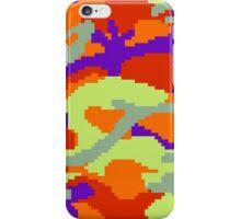 8-bit Woodland Camo (Samus) iPhone Case/Skin