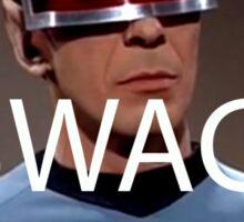 Spock Swag. Sticker