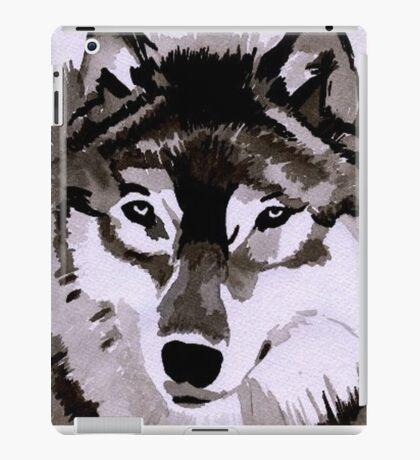 Wolf Ink. iPad Case/Skin