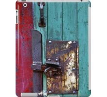 Barn Door No.4 iPad Case/Skin