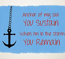 Anchor of My Soul by ZacBrit