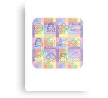 8 Bit Tee Metal Print