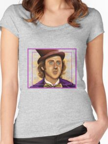 The Wilder Wonka Women's Fitted Scoop T-Shirt