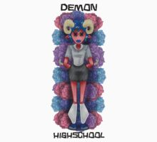 Demon Highschool by RootedSkulls