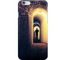Tunnel Figure iPhone Case/Skin