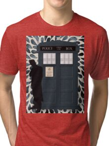 The Doctor and the TARDIS Tri-blend T-Shirt