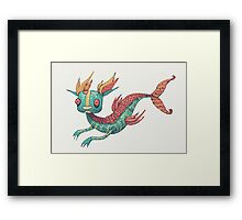 The Fish Dragon Framed Print