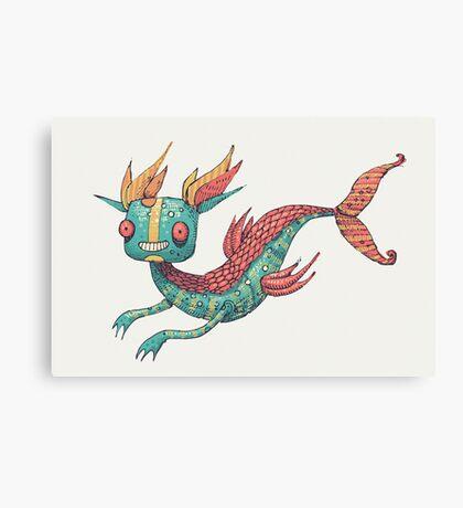The Fish Dragon Canvas Print