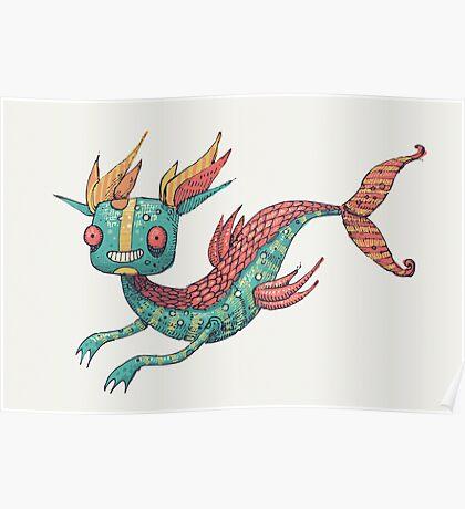 The Fish Dragon Poster