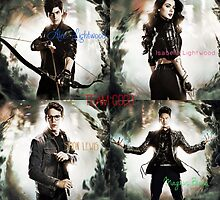 Team Good from the Mortal Instruments by joliverhouse