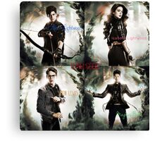 Team Good from the Mortal Instruments Canvas Print