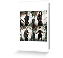 Team Good from the Mortal Instruments Greeting Card