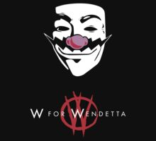 W for Wendetta Kids Tee