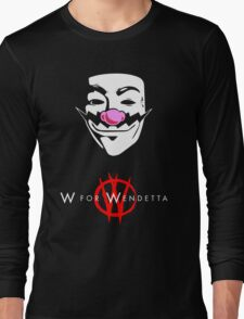 W for Wendetta Long Sleeve T-Shirt