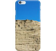 desert sand dune wind erosion iPhone Case/Skin
