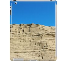 desert sand dune wind erosion iPad Case/Skin