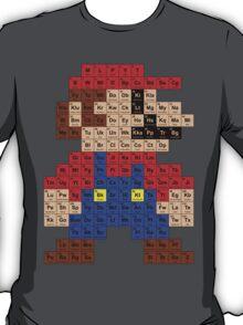 Periodic Mario Table T-Shirt