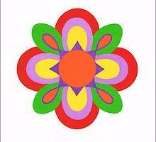 BEAUTIFUL FLOWER ART by RainbowArt