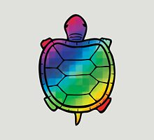 Color Swatch Turtle Unisex T-Shirt