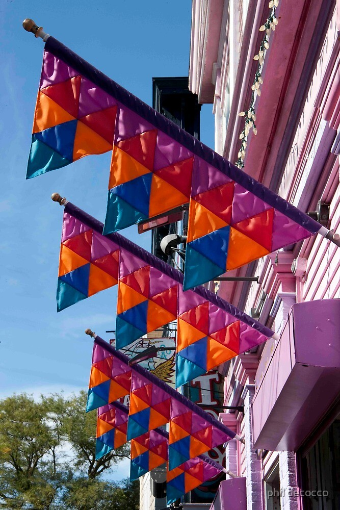 Flashy Flags by phil decocco