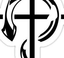 Black Fullmetal Alchemist Flamel Sticker