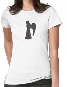 Doctor Who Weeping Angel Womens Fitted T-Shirt