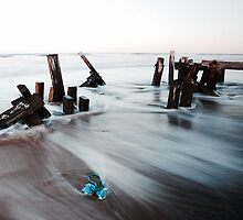 Jetty Remains by PaulBradley