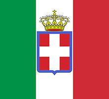 War Flag of Kingdom of Italy (1861-1946) by abbeyz71