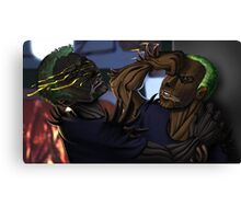 Thistledoom and Brier Fight Canvas Print