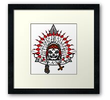 Alien Chief  Framed Print