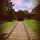 Vintage Train by PiscesAngel17