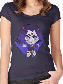 Teen Titans || Raven Women's Fitted Scoop T-Shirt